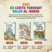 """Buku """"33 Cerita Terhebat di dalam Al Qur'an"""""""